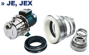 Торцевое уплотнение для насоса JE, JEX